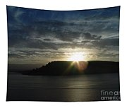 Black Butte Sunrise Tapestry