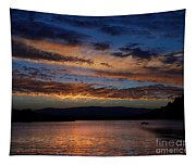 Black Butte Sunset Tapestry