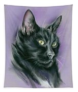 Black Cat Sith Tapestry