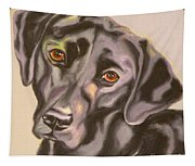 Black Lab Aint No Cure For Love Tapestry