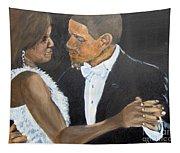 Black Love Is Black Power Tapestry