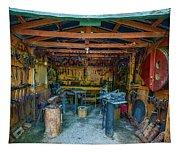 Black Smith Tapestry