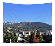 Blackcomb Mountain Tapestry