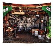 Blacksmith Shop By Kaye Menner Tapestry