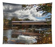 Blair Covered Bridge Tapestry