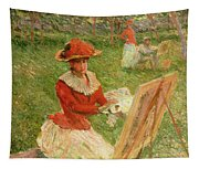 Blanche Hoschede Painting Tapestry