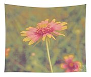Blanket Flower Portrait Tapestry