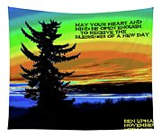 Blessings Of A New Day Tapestry