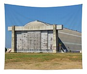 Blimp Hanger From Closed El Toro Marine Corps Air Station Tapestry