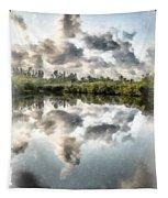 Blind Pass Bayou Sanibel Island Florida Tapestry