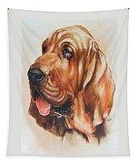 Bloodhound Tapestry