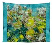 Bloom In Vintage Ornate Style Tapestry