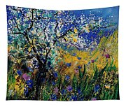 Blooming Appletree Tapestry