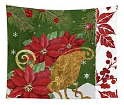 Blooming Christmas I Tapestry