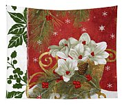 Blooming Christmas II Tapestry
