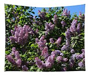 Blooming Lilacs Tapestry