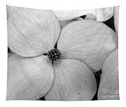 Blossom In Black And White Tapestry