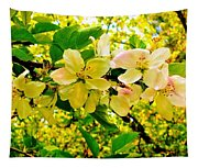 Blossoms Of Sunshine Tapestry