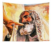 Blow The Trumpet In Zion Tapestry