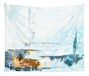 Blue Abstract 12m1 Tapestry