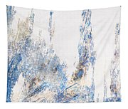 Blue And White Art - Ice Castles - Sharon Cummings Tapestry
