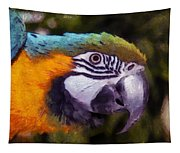 Blue-and-yellow Macaw Tapestry