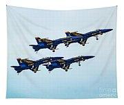 Blue Angels Carrier Landing Tapestry