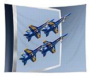 Blue Angels - Oof Tapestry