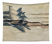 Blue Angels Rip Tapestry