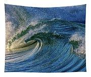 Blue Barrel Tapestry