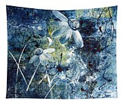 Blue Beauties Tapestry