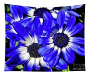 Blue Beauty Tapestry
