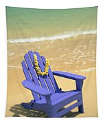 Blue Chair Tapestry