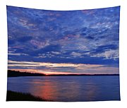 Blue Clouds Tapestry