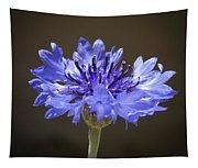 Blue Cornflower Tapestry