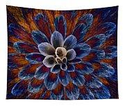 Blue Dahlia Tapestry