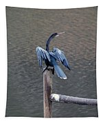 Blue Darter Tapestry