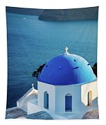 Blue Dome Tapestry