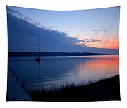 Blue Downtime Tapestry