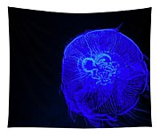 Blue Energy - Jellyfish Tapestry