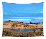 Blue Evening In Ludington State Park Tapestry