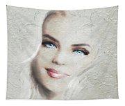 Blue Eyes Blond  Tapestry