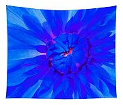 Blue Flower Tapestry