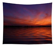 Blue Hour On The Neches  Tapestry