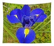 Blue Iris Beauty Tapestry
