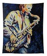 Blue Les Tapestry