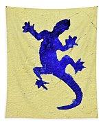 Blue Lizard Tapestry