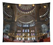 Blue Mosque Interior Tapestry