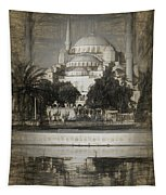 Blue Mosque - Sketch Tapestry