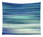 Blue Motion Tapestry